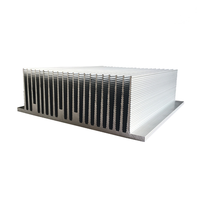 Large Aluminum 6061 T6 Extruded Heat Sink Price Per Kg for Industrial Cooler System