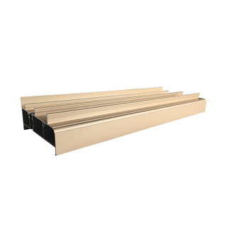 Heat Insulation Anodized Aluminium Extrusion Profiles for Thermal Break Windows