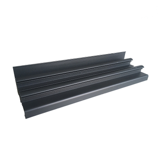 Matt Powder Coating Aluminum Extrusion Sliding Windows Profiles for Glazed Window Price Philippines