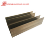 Electrophoresis Aluminum Casement Window Frame Extrusion Profiles for Philippine