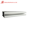 JIA HUA Silver Color Anodized Aluminum T Track Extrusion Profiles in China