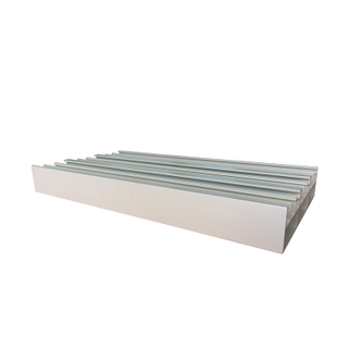 High Quality Powder Coating 6063 T5 Extruded Aluminum Sliding Window Track Profiles for Surabaya