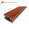 Jia Hua Wood Grain Moulding Profiles Aluminium Frame Window Frame And Glass Aluminium Profile for Dubai