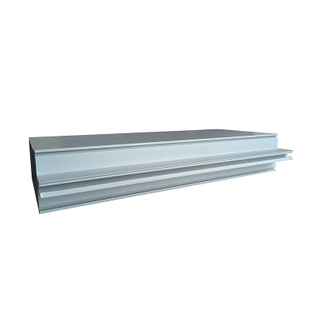 Lower Price Aluminium Extrusion Glass Curtain Wall Frame Profiles for Facade