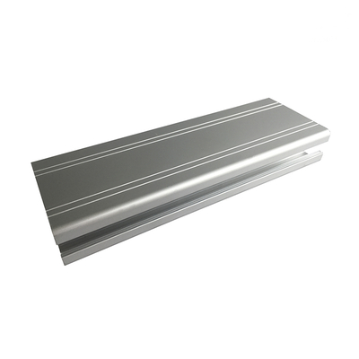 6063 Anodized 1.0 Mm Window Extrusion Silver Aluminium Profile for Windows And Doors