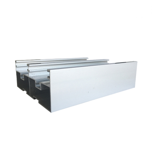 Silver Color Anodized Aluminum Door Window Frame Extrusion Profiles for Thermal Break Aluminum Sliding Window Price Philippine