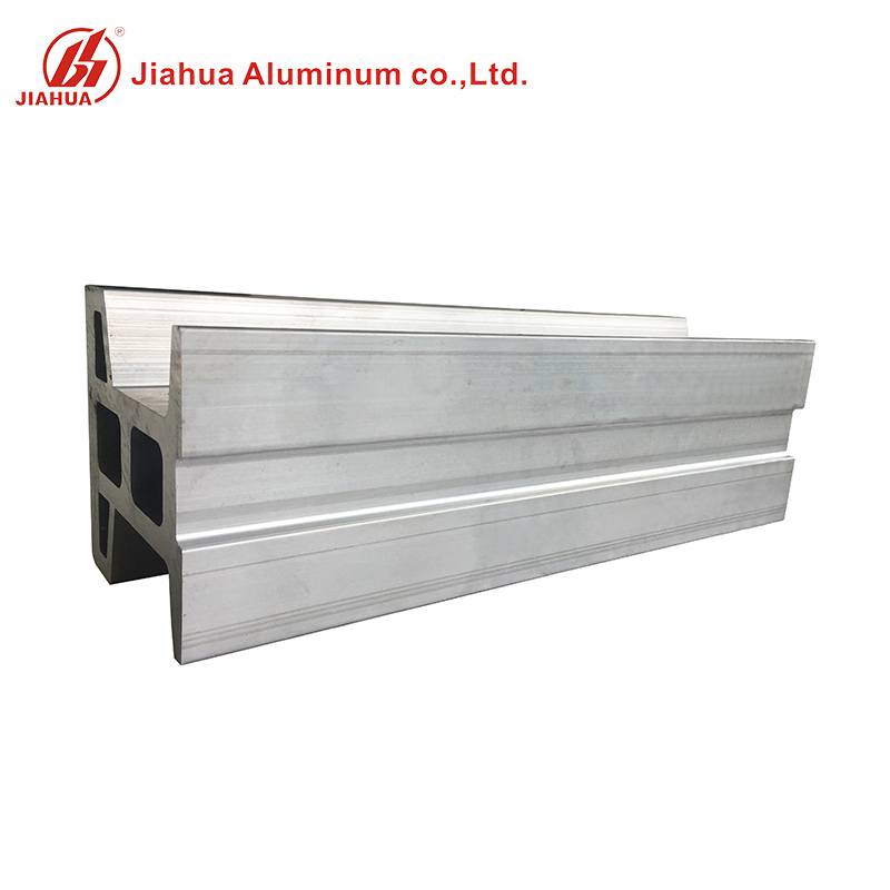 6061 T6 Aluminum I Beam H Beam Transom Corner Bracket Profile for Construction