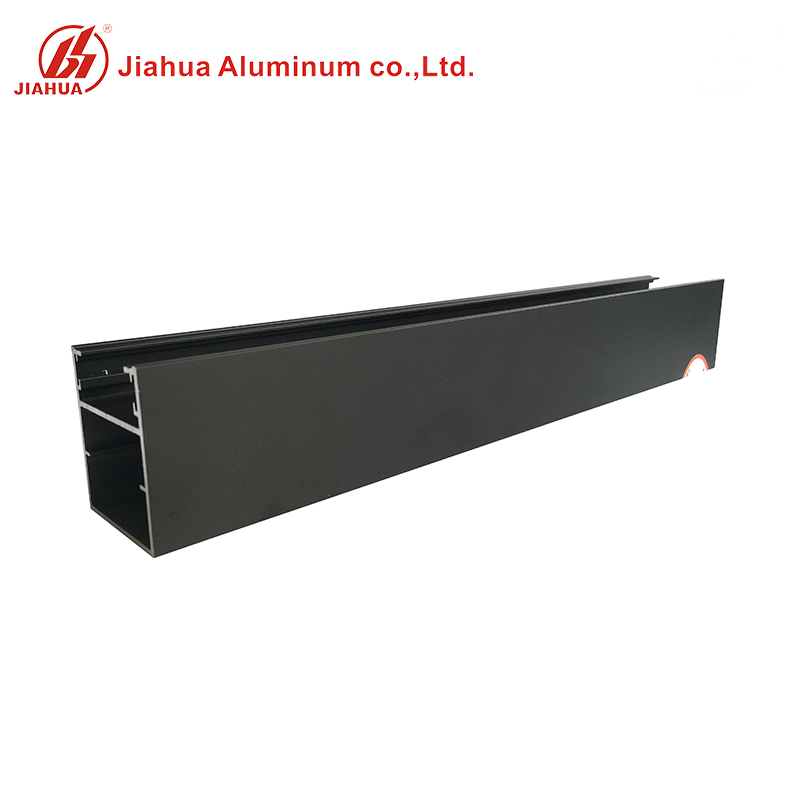New Anodized Black Color Aluminum Window Extrusion Profiles for Sliding Window Frame