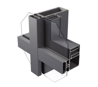 JH120L / JH150L Series Aluminum visible curtain wall for facade
