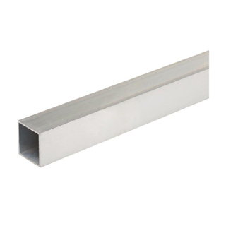 OEM Size Aluminum Framing Square Tubing Bar Profiles Price Per Kg