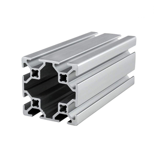 Industrial T Slotted V Slot Aluminum Extrusion Track Framing Profile for CNC