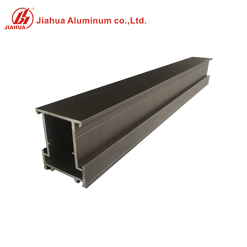 China Manufacturer Matt Powder Coated Aluminum Window Extruded Frame Profiles for Casement Windows Price Per Ton