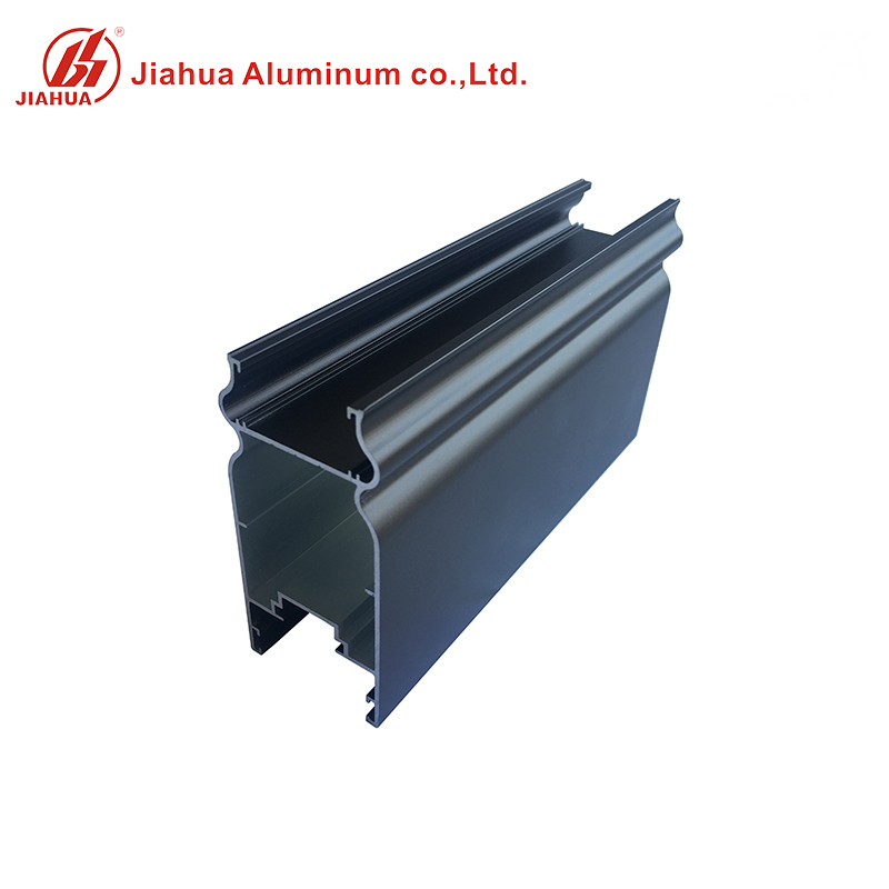 New coffee color electrophoresis finish aluminum window profiles for Philippine