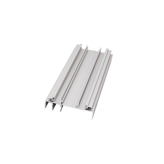 Bottom Rail Aluminum Extrusion Window Section Profiles for Sliding Windows And Doors