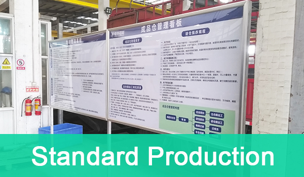 Eliminate hidden dangers of accidents and standardize production activities